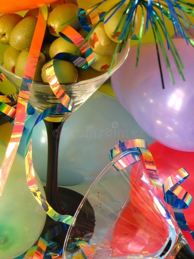 Free Ballons & Olives Royalty Free Stock Images - 203889
