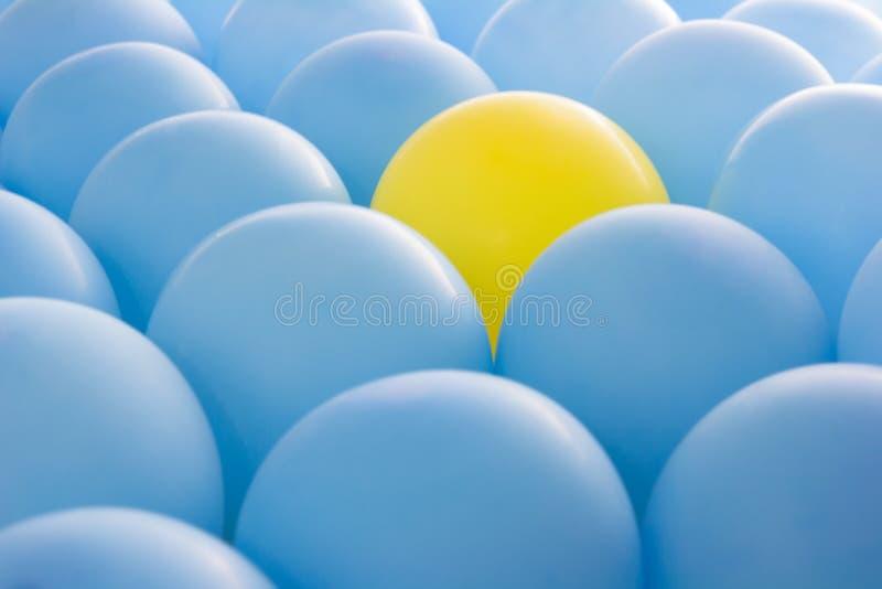 Ballons van verschillend royalty-vrije stock afbeeldingen