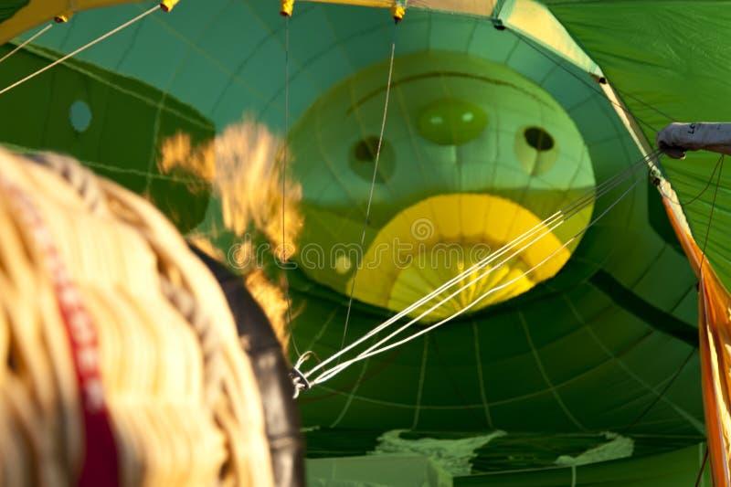 Ballonsegel 2009 lizenzfreies stockbild