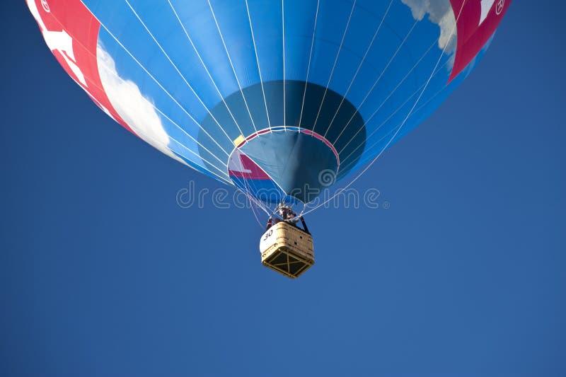 Ballonsegel stockfotografie