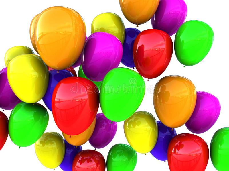 Ballonshintergrund vektor abbildung