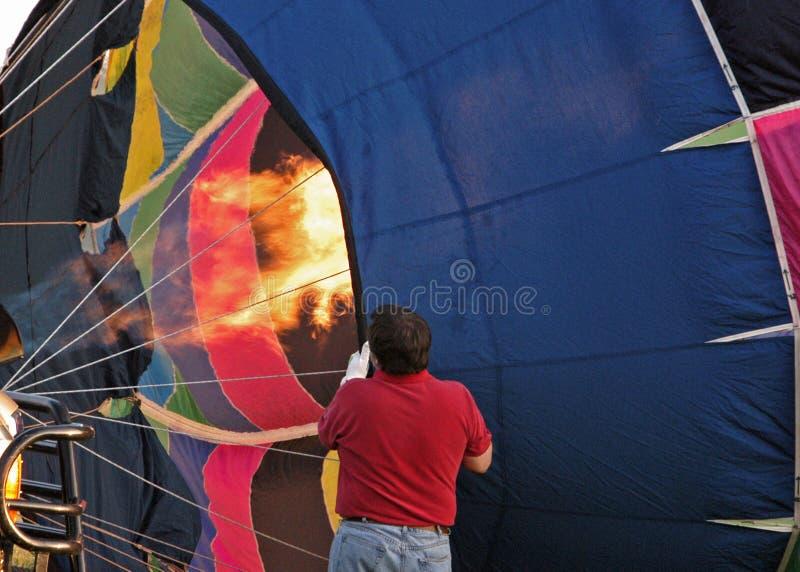 Ballonvaarder II stock foto's