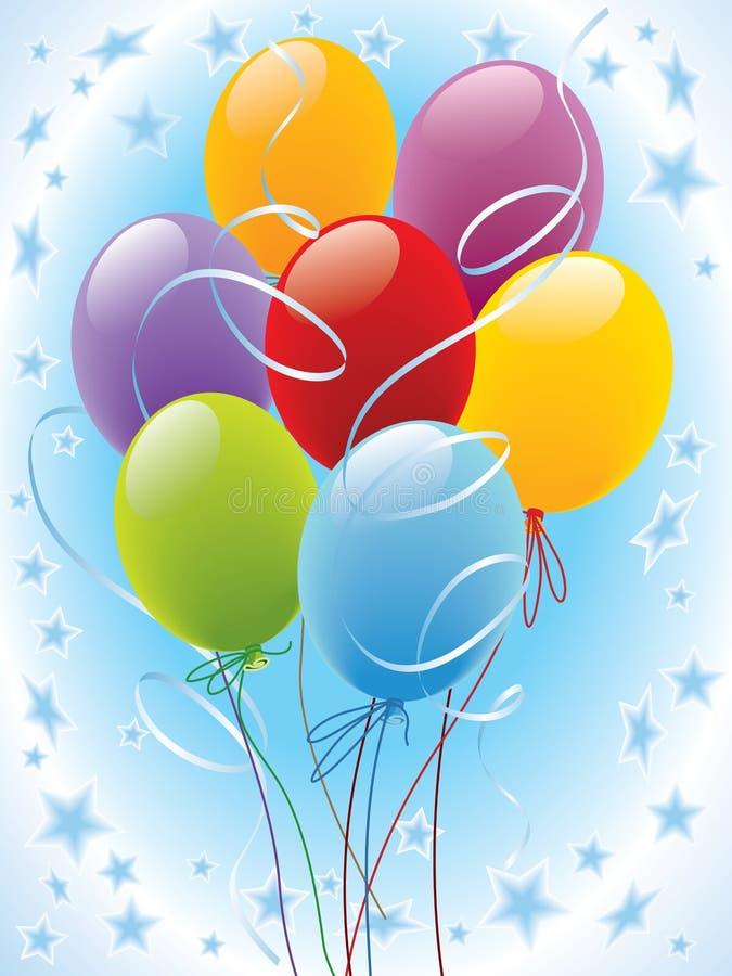 Balloon 02 vector illustration