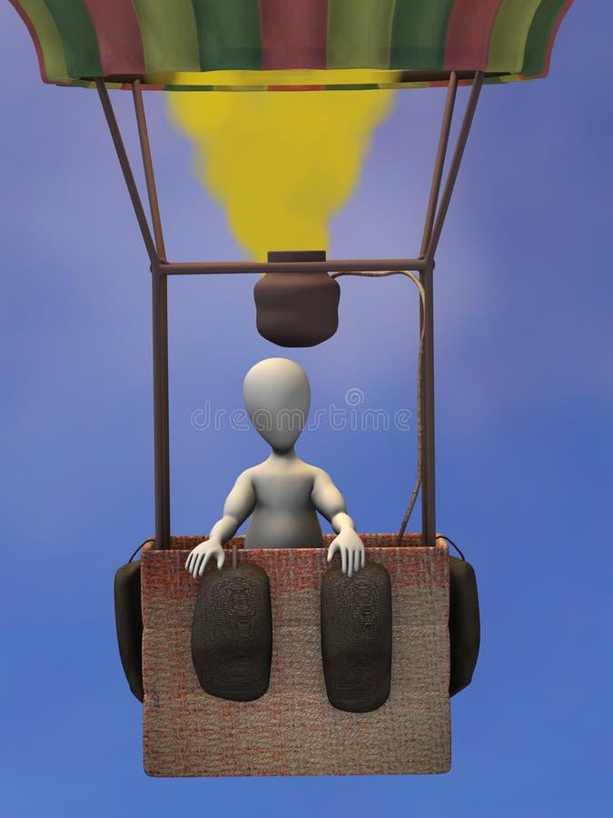 Download Balloon stock illustration. Illustration of aircraft - 13263127