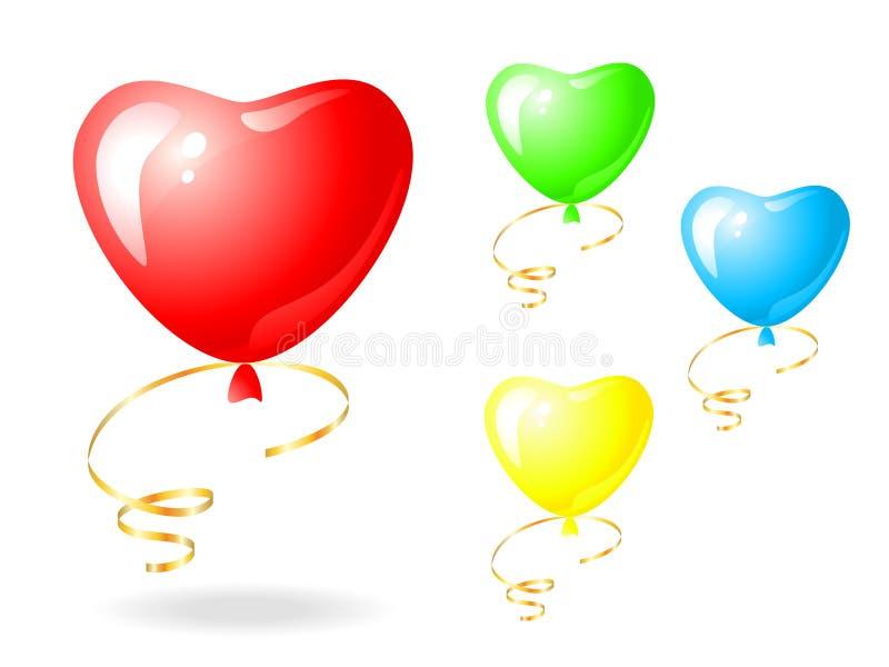 Download Balloon stock vector. Illustration of rubber, golden - 26472587