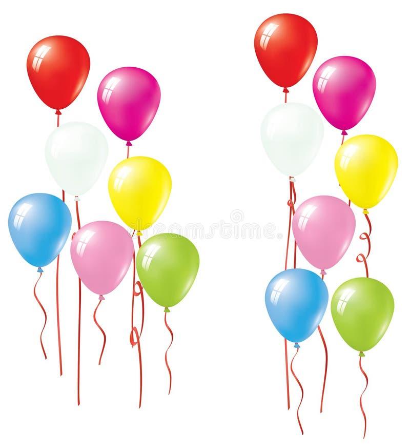 Balloon stock illustration