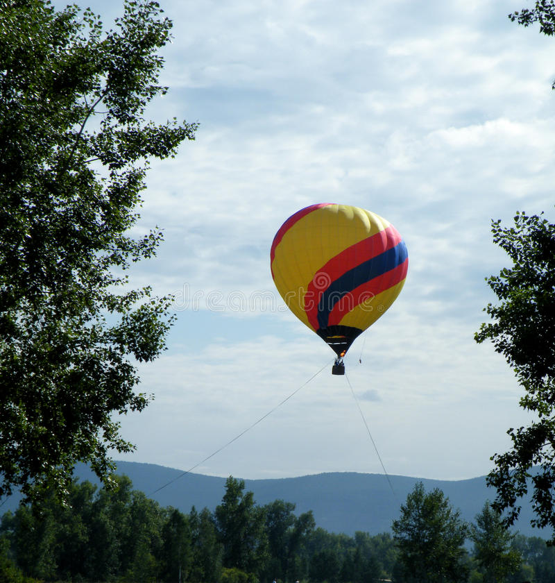 Balloon. Aeronautics. royalty free stock photos