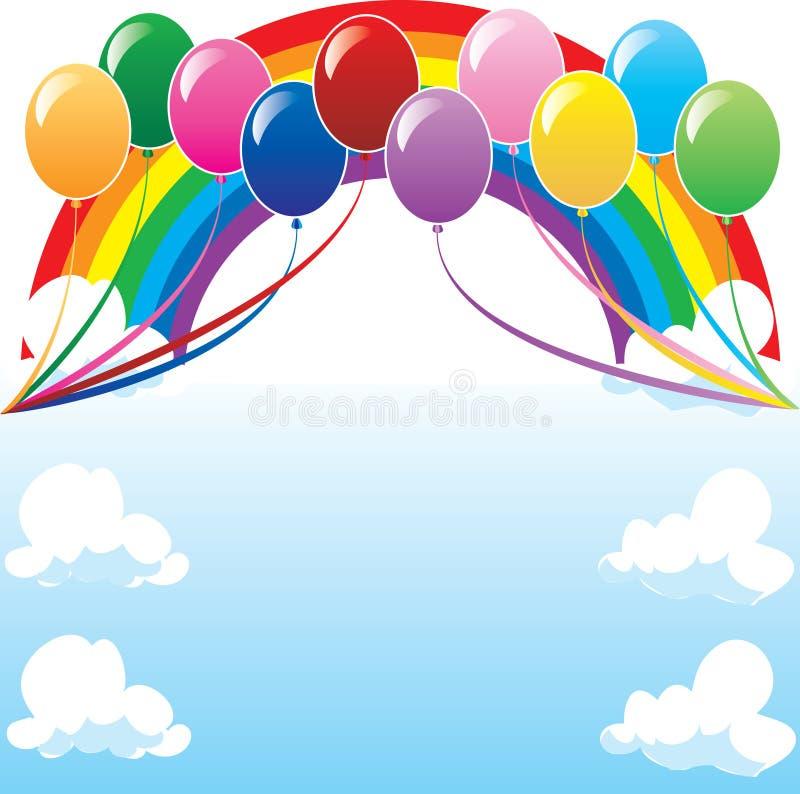 Download Balloon Background 2 stock vector. Illustration of balloons - 10678997