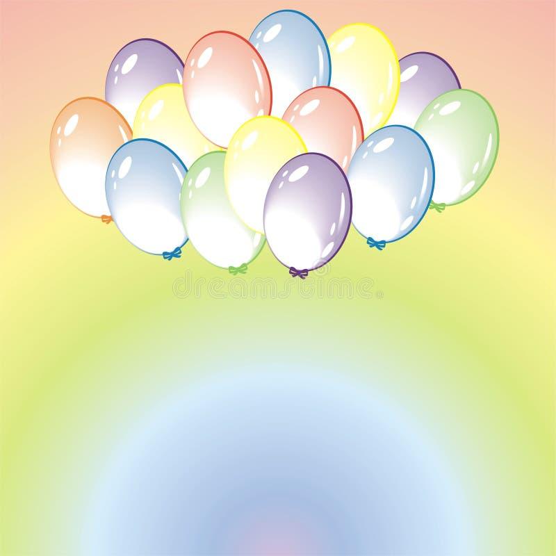 Balloon Background Stock Photography