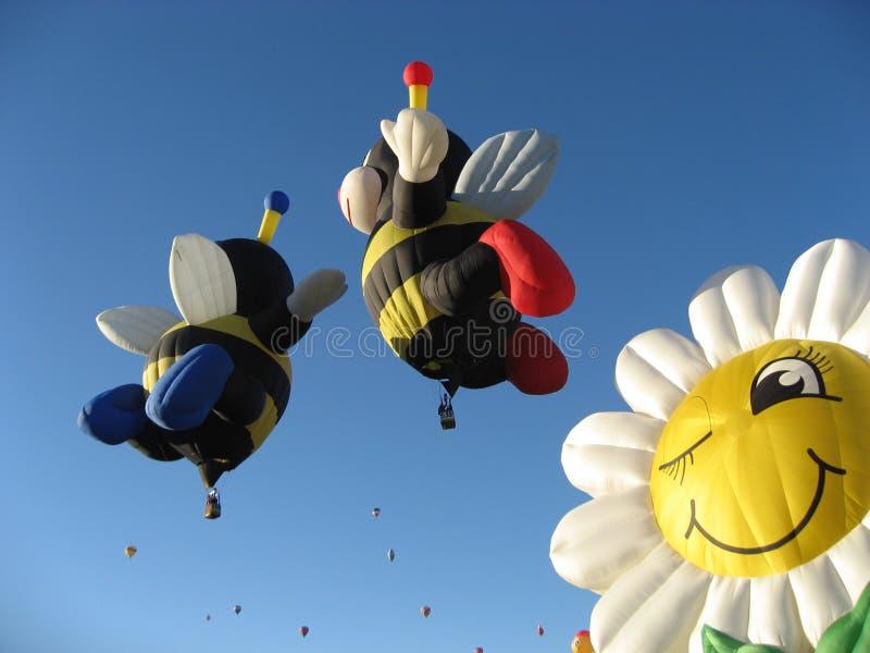 Balloon Bees stock photos