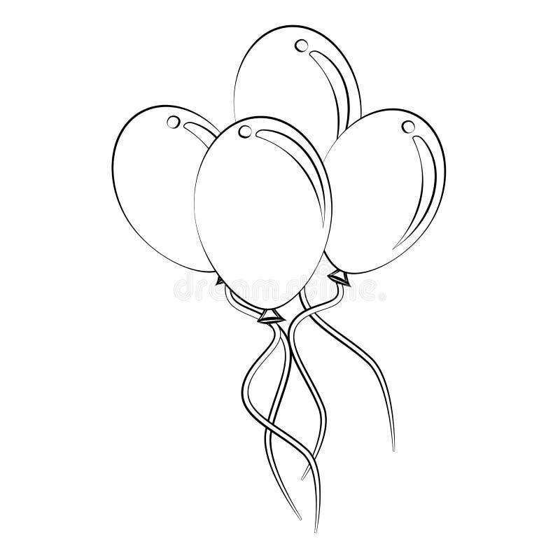 Balloon Stock Vector Illustration Of Shape Vector