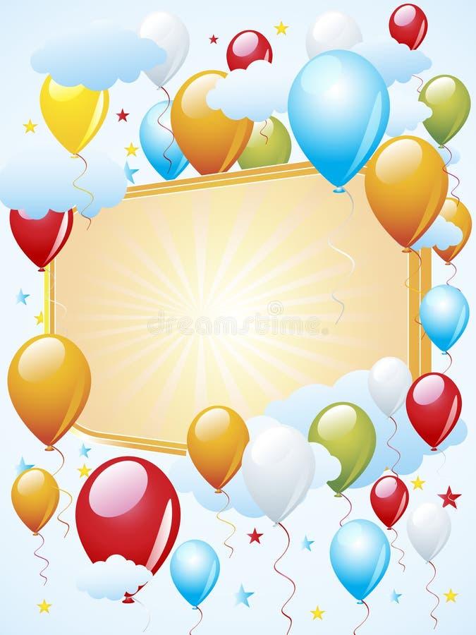Download Balloon celebration stock illustration. Illustration of color - 22264187