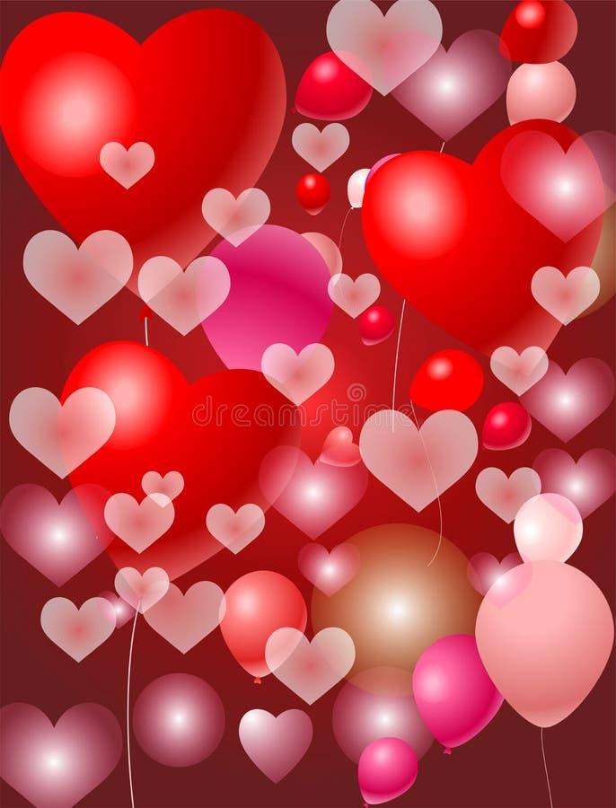 Download Balloon celebration stock illustration. Image of affection - 22627373