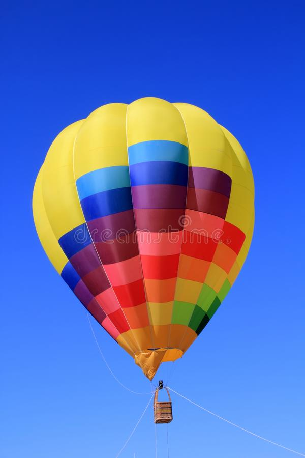 Download Balloon Colorful Vivid Colors In Blue Sky Stock Image - Image: 20115945