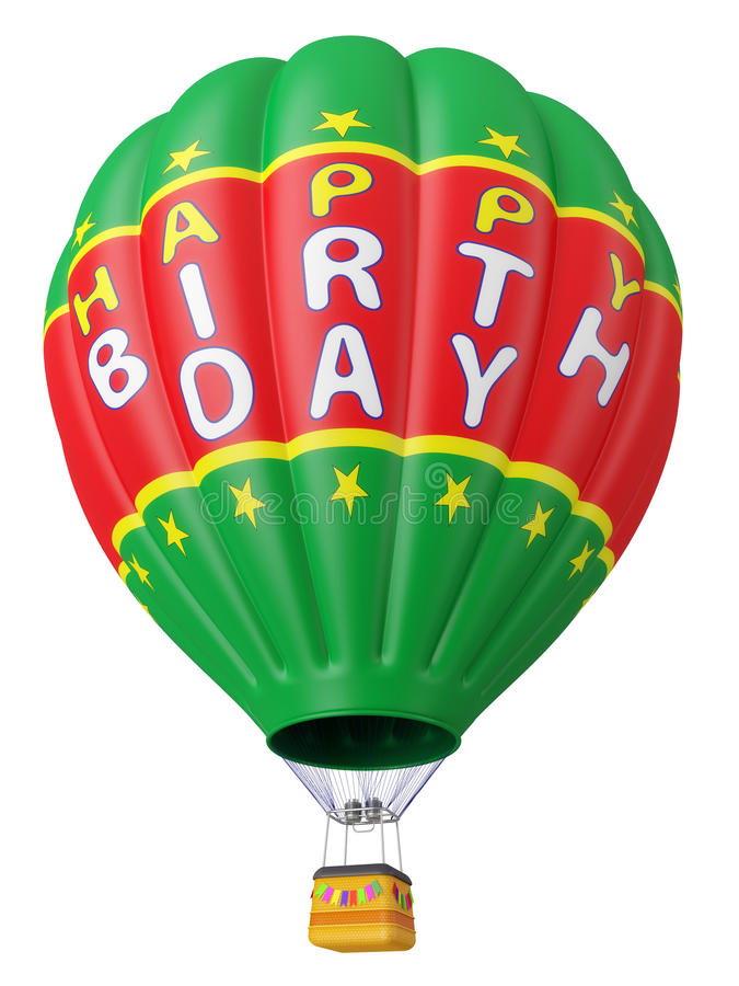 Download Balloon A Congratulation Happy Birthday Stock Illustration - Image: 25037301