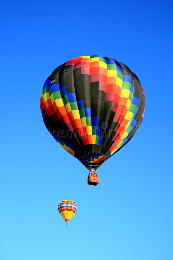 A balloon festival. In New Jersey USA royalty free stock photography