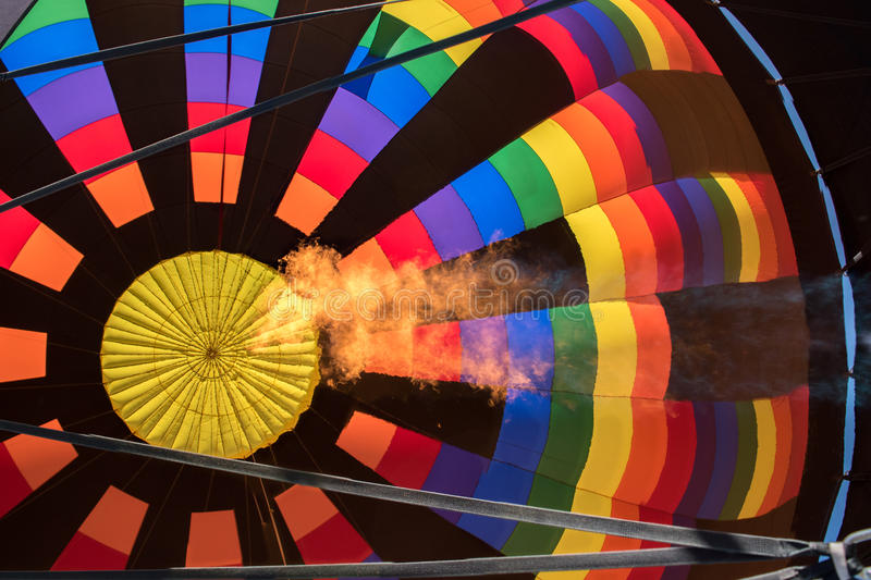 Balloon Festival. Hot air balloon festival in Steamboat Springs, Colorado royalty free stock images