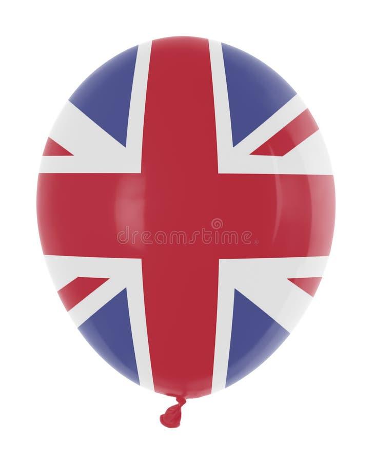 Balloon With Flag Stock Photo