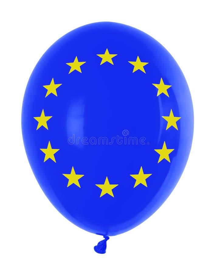 Balloon With Flag Royalty Free Stock Photo