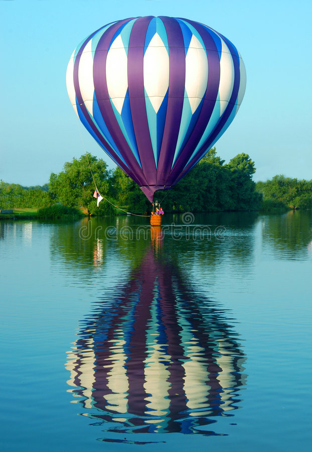 Balloon Floating on the Water royalty free stock photography