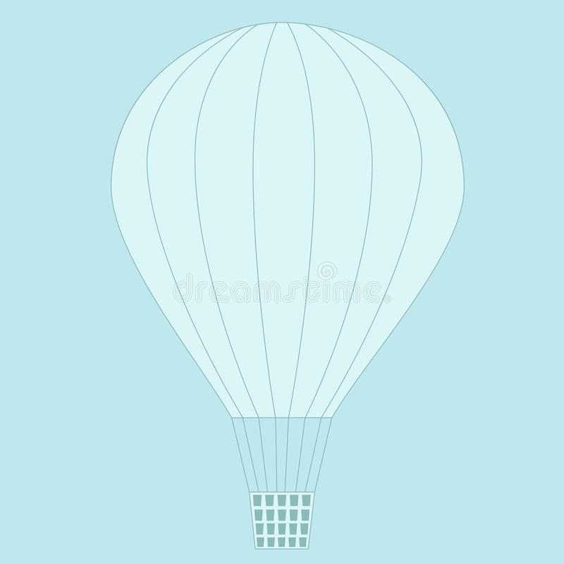 Download Balloon flying in the sky. stock vector. Illustration of flying - 26890361