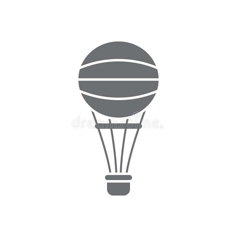 Balloon icon. Simple element illustration. Balloon symbol design from Transport collection set. Can be used for web and mobile. On white background vector illustration