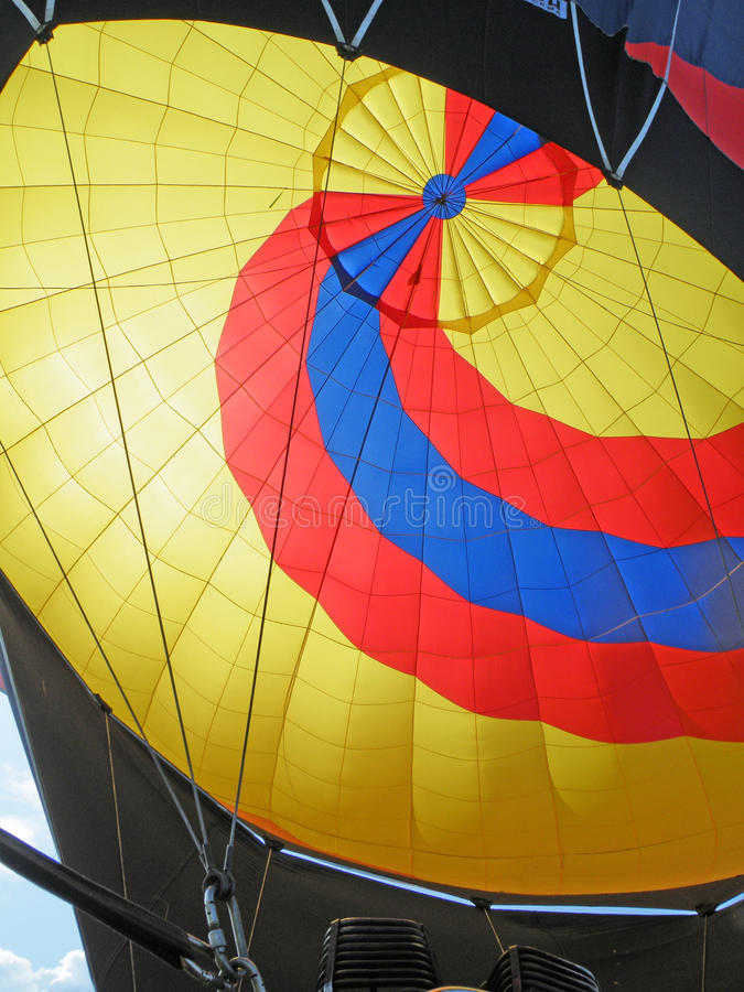 Balloon. Inside view stock image