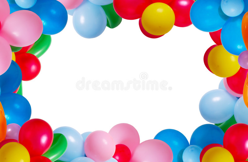 Download Balloon Isolated On White Background Stock Image - Image of celebration, happiness: 5779479