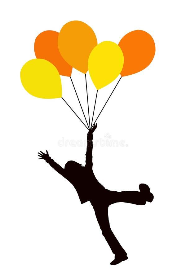 Download Balloon kid stock illustration. Image of cheer, balloon - 15596092