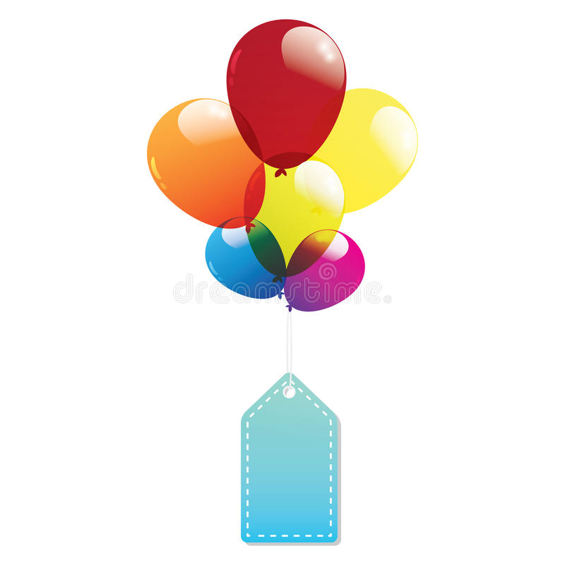 Download Balloon Label Tags Colorful Stock Vector - Image: 32218589