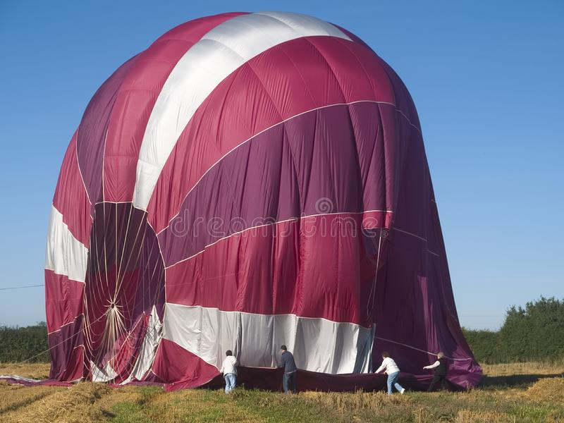 Balloon Landing Stock Images