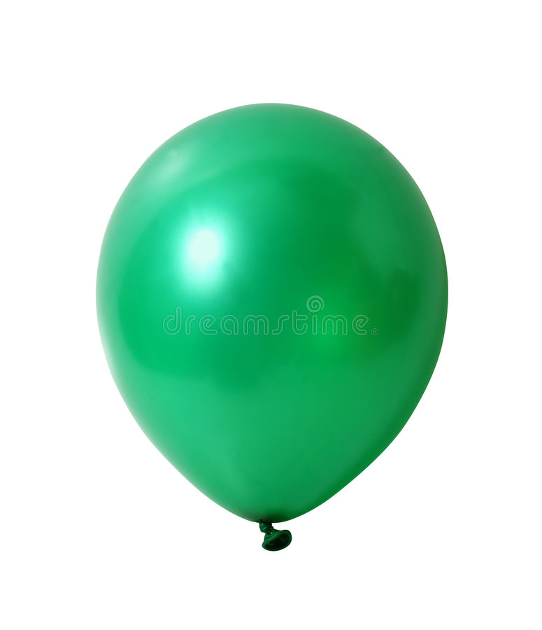 Free Balloon On White With Path Stock Photo - 1307970