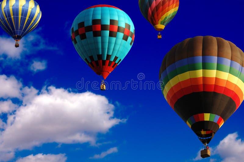 Balloon Race royalty free stock photo