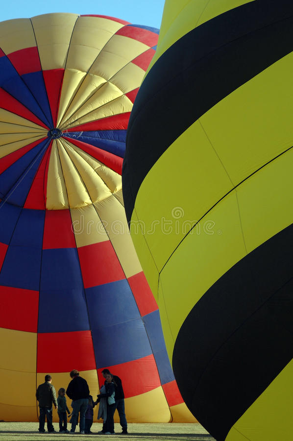 Balloon Rally royalty free stock image