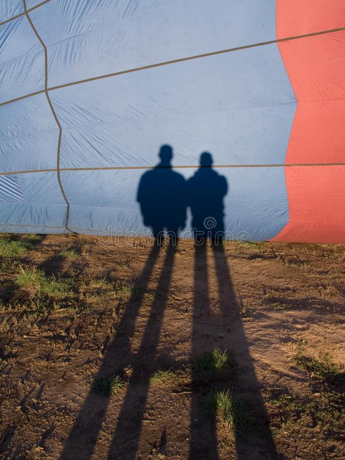 Download Balloon shadows stock photo. Image of silhouette, contemporary - 1018152