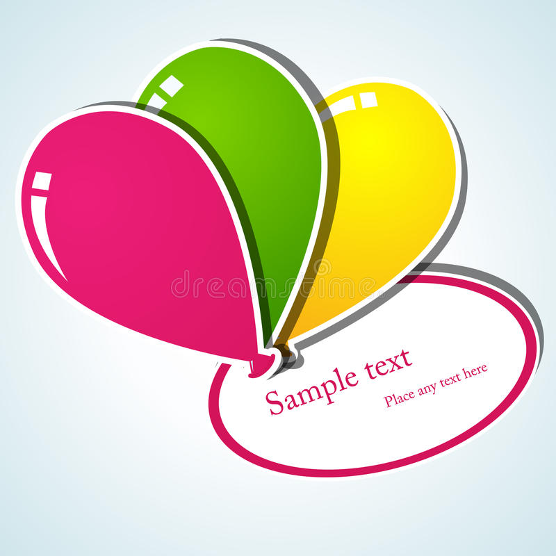 Download Balloon Stickers Stock Images - Image: 19593514