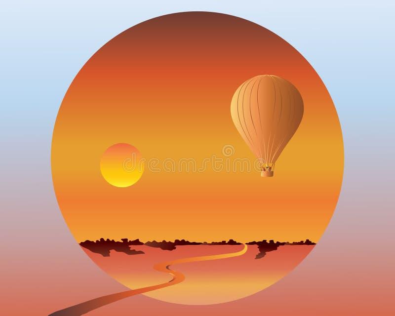 Balloon Travel Royalty Free Stock Photo