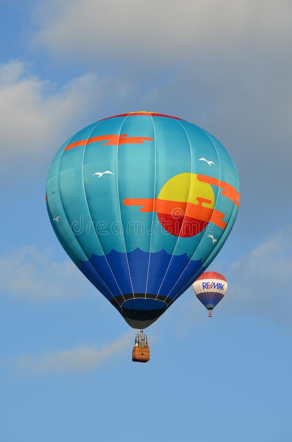 Balloonfest 2 стоковое фото