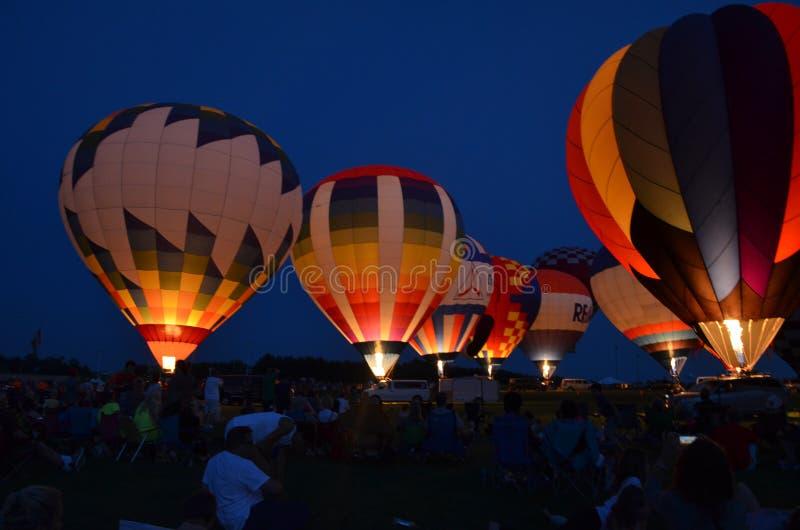 Balloonfest 5 стоковые изображения rf