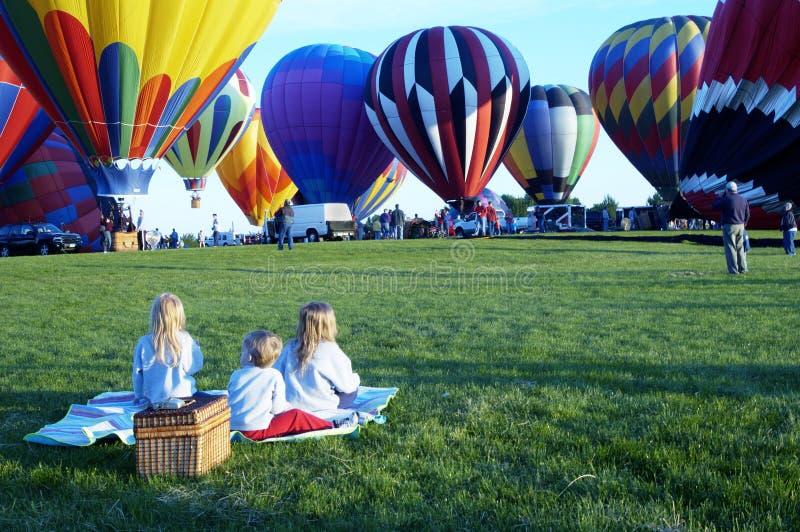 Ballooning 5 imagem de stock