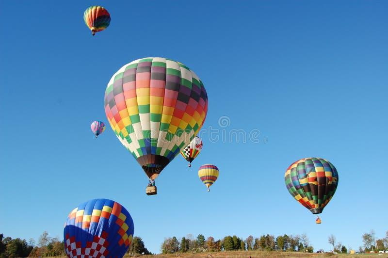 ballooning imagem de stock royalty free
