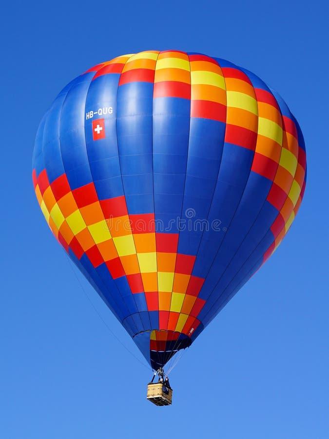 Ballooning de ar quente, balão de ar quente, céu, dia