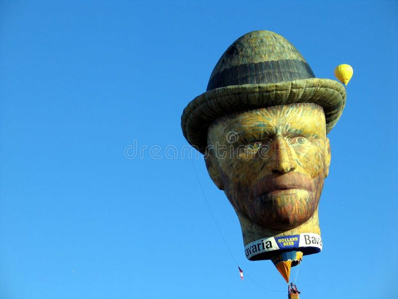 Ballooning in Gatineau Canada, Noord-Amerika stock afbeeldingen
