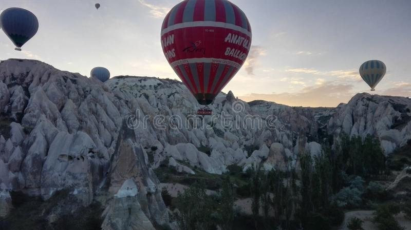 Balloonride lizenzfreie stockfotos