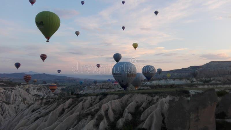 Balloonride lizenzfreies stockbild