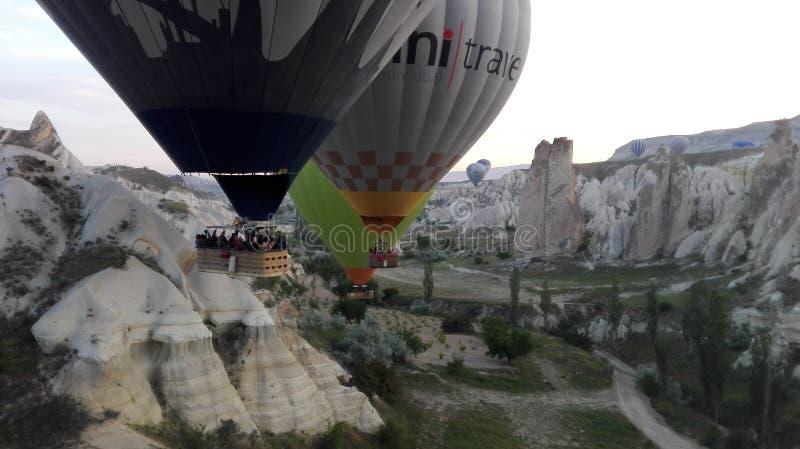 Balloonride lizenzfreie stockbilder