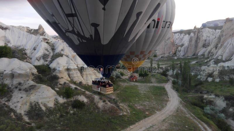 Balloonride stockbilder