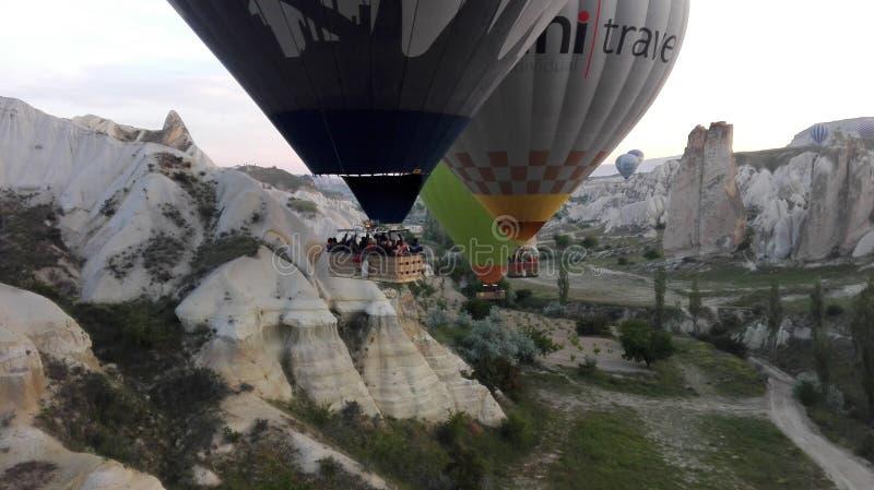 Balloonride stockfoto