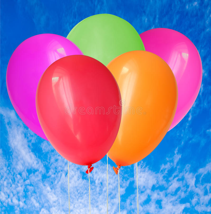 Download Balloons stock illustration. Image of colorful, birthday - 11538480