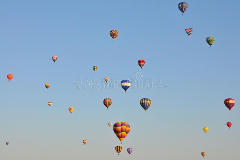 Download Balloons editorial stock image. Image of color, competition - 17129684